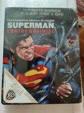 Superman Unbound Blu-ray Steelbook French version, New/Sealed