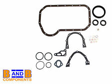 VW GOLF MK1 MK2 SCIROCCO CADDY ENGINE BLOCK GASKET SUMP SET 037198011C A375