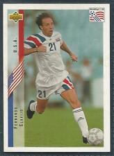 UPPER DECK WORLD CUP USA 1994- #004-UNITED STATES/USA-FERNANDO CLAVIJO