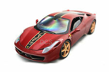Hot Wheels Elite BCK12 Ferrari 458 Italia China Limited, Red 1/18 Diecast BCK12