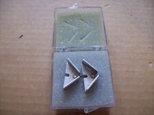 """Pair of Pace 1121-0319-P1 Thermotweez Soldering Tips .67"""" x .67"""" New in Box"""