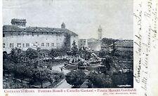 CISTERNA DI ROMA - Fontana Biondi e Castello Gaetani