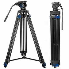 Professional Video Tripod System, 72-inch Aluminum Heavy Duty