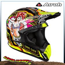 Casco Helmet Cross Switch Flipper Gloss Airoh Size S