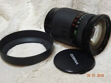 Cosina 28 210mm fits sony alpha DIGITAL Telephoto zoom + hood + front cap