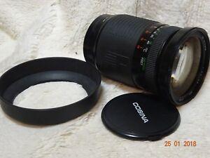 Cosina 28 210mm fits sony alpha DIGITAL Telephoto zoom + hood + front cap