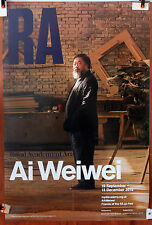 AI WEIWEI original exhibition poster Royal Academy 2015