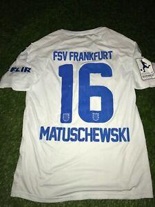 FSV Frankfurt Matchworn Trikot Adrian Matuschewski Regionalliga Süd-West Patch