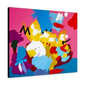 """The Simpsons Couch Fan Art Canvas 30"""" x 24"""""""