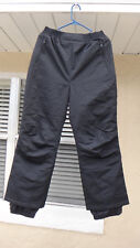 LL Bean Snow Pants Women's Small Black 0CS62 Waterproof Lined Thermal Insulation