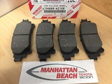 11 19 SIENNA U0026 14 19 HIGHLANDER Rear Brake Pads NEW Toyota CERAMIC 04466