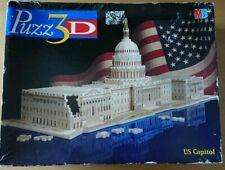 MB Puzz 3D US Capitol  718 Piece Puzzle