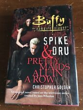 BUFFY THE VAMPIRE SLAYER SPIKE AND DRU PRETTY MAIDS ALL IN A ROW BOOK BTVS