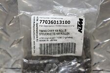 09 13 KTM 250 450 EXC-W New Timing Chain 108 Rolls OEM Part 77036013100