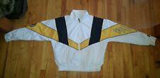 Vintage STARTER Boston Bruins White Full Zip Windbreaker Jacket NHL Size Large