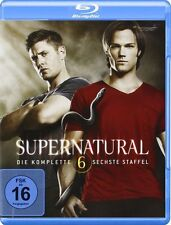 SUPERNATURAL, Staffel 6 (4 Blu-ray Discs) NEU+OVP
