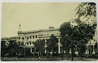 Michigan RPPC Mount Clemens PARK HOTEL 1910 New Haven to Howell Postcard H18