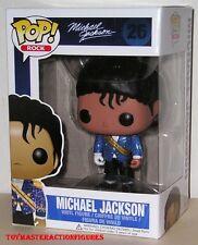 FUNKO POP 2014 MILITARY JACKET MICHAEL JACKSON #26 Vinyl 3 3/4 Figure In Stock