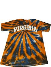 Virgina Tie Dye Shirt blue and orange