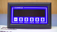 OMEGA DPF66 RATEMETER/BATCH power tested working fine