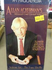 Vhs Allan Ackerman Volume 6 Advanced Card Control The Faro Shuffle