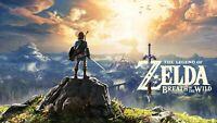 Legend of Zelda: Breath of the Wild (Nintendo Switch DIGITAL, 2017) Reedem code