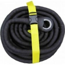 ARB BLACK SNAKE SNATCH STRAP WITH THIMBLES BSS10TE 10m Heavy Duty Rubber