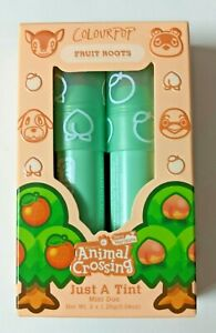Colourpop Animal Crossing -Fruit Roots Just A Tint:Peach Surprise & Orange Cutie
