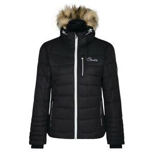 Womens Dare2b Curator Luxe Insulated Ski Jacket Black