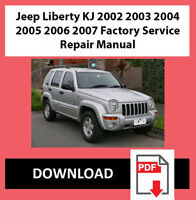 Workshop Service Repair Manual for Jeep Liberty KJ 2002 2003 2004 2005 2006 2007