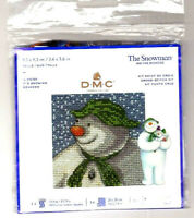 BRAND NEW! It's Snowing The Snowman DMC Counted Cross Stitch Kit FREE P&P (UK)