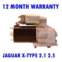 JAGUAR X-TYPE 2.1 2.5 3.0 2001 2002 2003 2004 -2009 REMANUFACTURED STARTER MOTOR