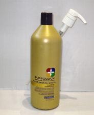 Pureology Nano Works Gold Shampoo 33.8 oz Liter with PUMP Nanoworks SEALED