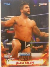 2013 TNA Impact Wrestling Live Alex Silva SP Gold Insert Card # 9 / 50