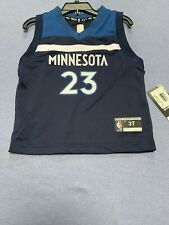 Jimmy Butler Minnesota Timberwolves Nba Team Jersey #23 Size 3T Toddler Licensed