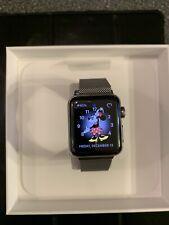 Apple Watch Series 3 38mm Stainless Steel Case w/ Milanese Loop (GPS + Cellular)