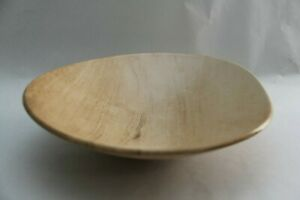 """Decorative Bowl """"Wood Grain"""" (Ceramic, 12"""" Diameter, 3"""" Height)"""