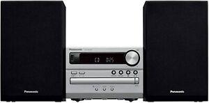 Panasonic CD Stereo System USB Memory / Bluetooth Correspondence Silver SC-PM250