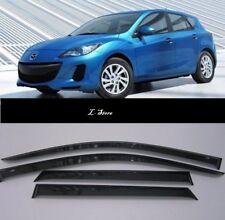 For Mazda 3 Hb 2010-2013 Side Window Visors Sun Guard Vent Deflectors