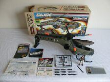 Vintage 1990 Hasbro Gi Joe Retaliator Helicopter w/ Updraft Figure & Box #6339