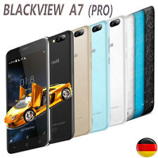 3*Cam Samsung Handy Quad-Core Android7.0 1+8GB Blackview A7 (Pro) Smartphone 3G
