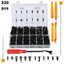 330pcs Automotive Push Pins Retainer Car Trim For GM Ford Toyota Honda +Tools
