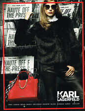 PUBLICITE ADVERTISING 025  2014  KARL LAGERFELD  haute couture