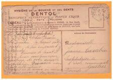 Publicité PHARMACIE - DENTISTE / DENTIFRICE DENTOL en 1913 illustrée GLANEUSES
