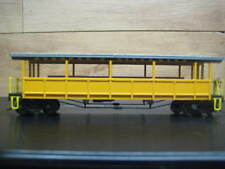Ho Scale Open-Sided Excursion Car with Seat Durango & Silverton # *Refurbished*