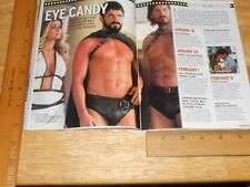 HX Magazine New Movies Theater,David Barton Gym AD, A Chorus Line 500th 2008 Gay
