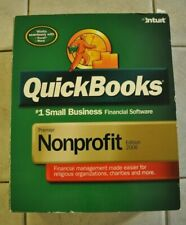 QuickBooks Financial Software Premier Nonprofit Edition 2006 Intuit L@@K!
