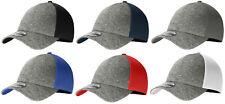 New Era 39THIRTY Shadow Heather Flex Mesh Structured Stretch Hat Blank Cap
