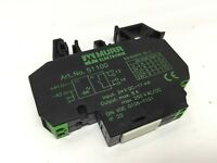 Murr Elektronik 51100 Output Module 1-Relay, 1-NO, 24VDC IN, 250VAC/DC 8A OUT