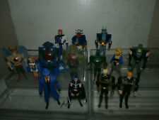 DC Universe LARGE JLU lot - The Question Huntress Vigilante Supergirl +++